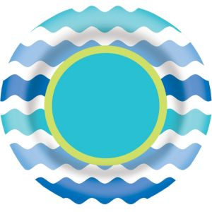 Cool Sea Plate 6in
