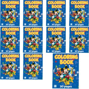 Mickey Mouse Coloring Books 12ct