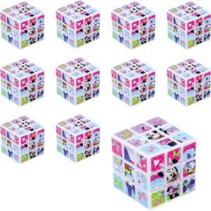 Minnie Mouse Puzzle Cubes 8ct