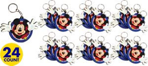 Mickey Mouse Keychains 24ct