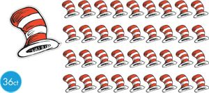 Cat in the Hat Cutouts 36ct