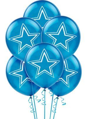 Dallas Cowboys Balloons 6ct