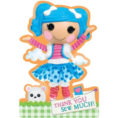 Lalaloopsy Thank You Notes 8ct