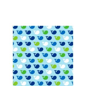 Ocean Preppy Beverage Napkins 16ct