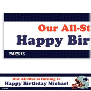 Custom New England Patriots Banner 6ft