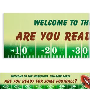 Custom NFL Drive Banner 6ft