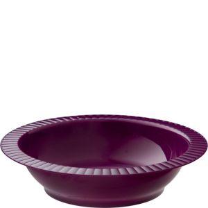 Plum Premium Plastic Soup Bowls 24ct