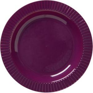 Plum Premium Plastic Dinner Plates 16ct