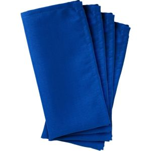 Royal Blue Fabric Napkins 4ct