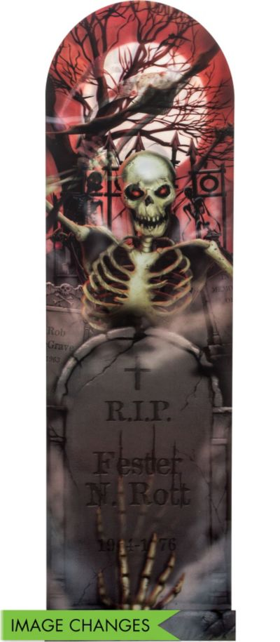 Graveyard Ghoul Lenticular Poster
