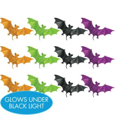 Fluorescent Bats 12ct