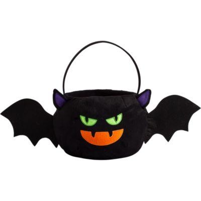 Plush Bat Treat Bucket