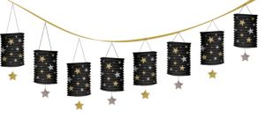 Hollywood Stars Paper Lantern Garland