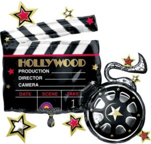 Hollywood Balloon - Clapboard