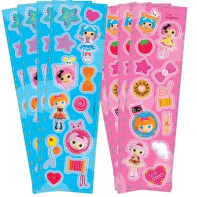 Lalaloopsy Stickers 8 Sheets