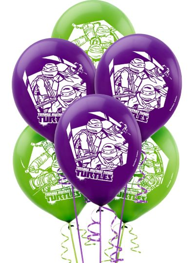 Teenage Mutant Ninja Turtles Balloons 6ct