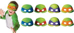 Teenage Mutant Ninja Turtles Masks 8ct