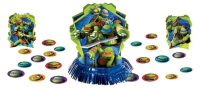 Teenage Mutant Ninja Turtles Table Decorating Kit 23pc