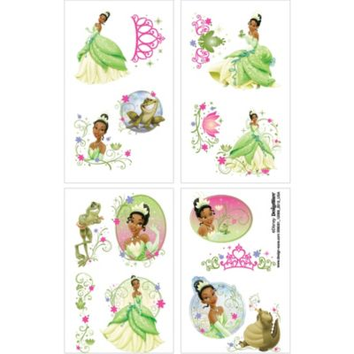 Princess and the Frog Tattoos 1 Sheet