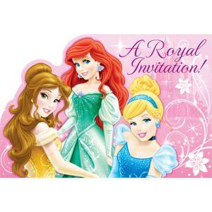 Disney Princess Invitations 8ct