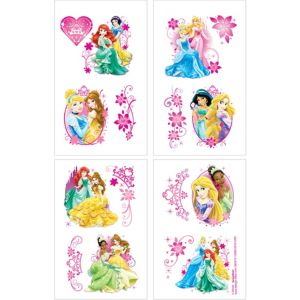 Disney Princess Tattoos 4 Sheets