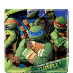 Teenage Mutant Ninja Turtles Dessert Plates 8ct