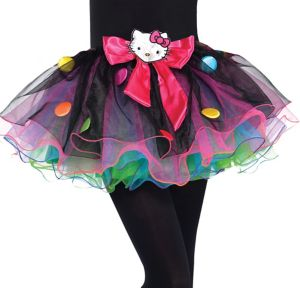 Girls Rainbow Hello Kitty Tutu