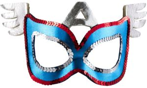 Child Plastic American Dream Mask