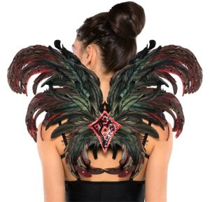 Fire Bird Feather Wings