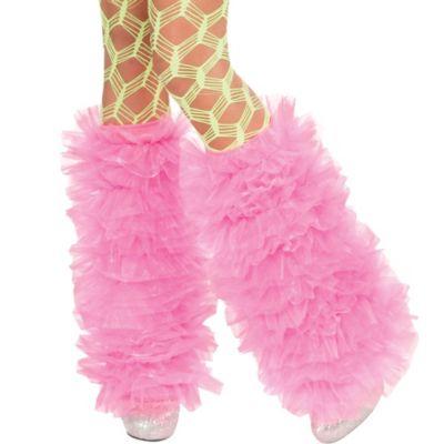 Ravewear Pink Tutu Leg Warmers