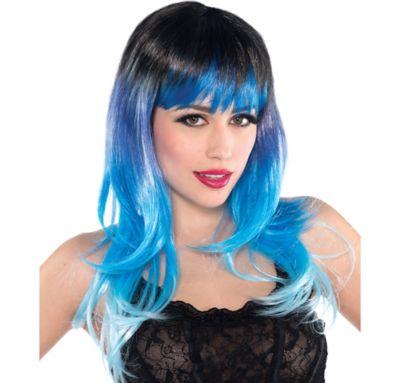Fantasy Blue Wig