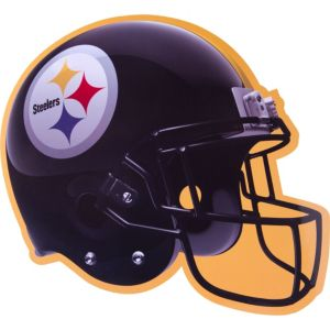 Pittsburgh Steelers Cutout 12in X 10in Party City