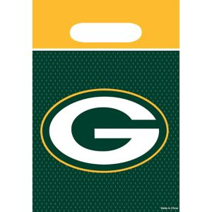 Green Bay Packers Favor Bags 8ct