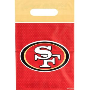 San Francisco 49ers Favor Bags 8ct