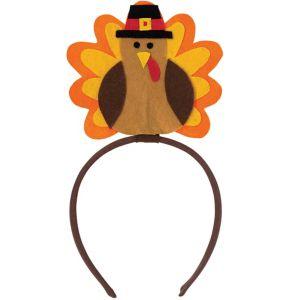 Felt Turkey Headband