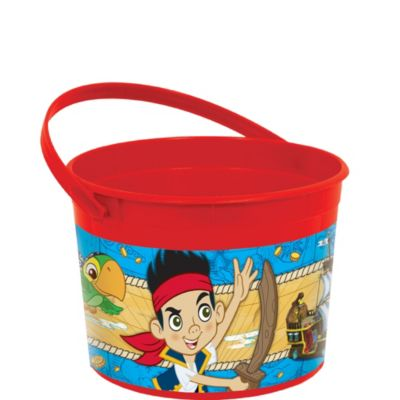 Jake and the Never Land Pirates Favor Container 4in