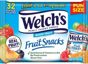 Welch's Mixed Fruit Fruit Snacks Pouches 44ct
