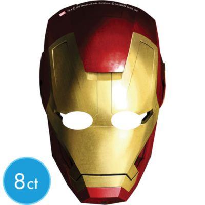 Iron Man Masks 8ct