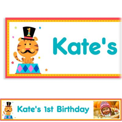 Fisher Price 1st Birthday Custom Photo Banner