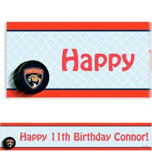 Custom Florida Panthers Banner 6ft