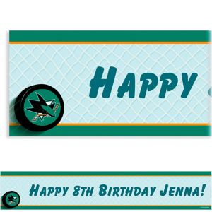 Custom San Jose Sharks Banner 6ft