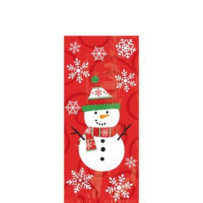 Snowman Treat Bags 20ct