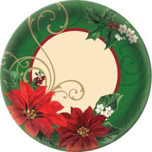 Poinsettia Platter