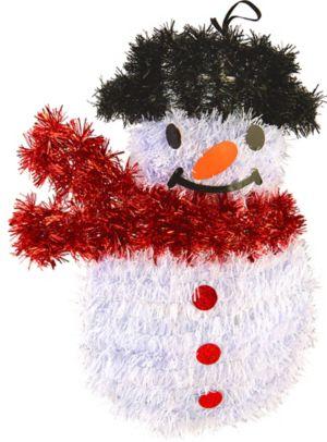Tinsel Snowman