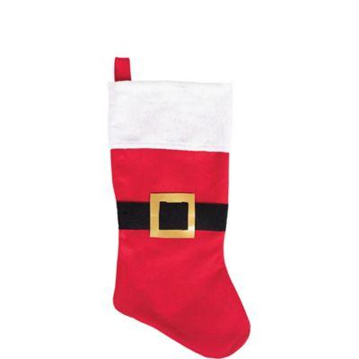 Santa Belt Christmas Stocking