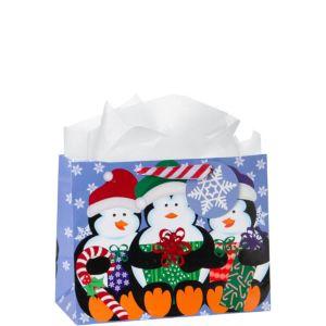 Snowy Penguins Gift Bag