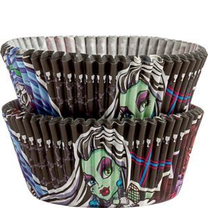 Monster High Baking Cups 50ct