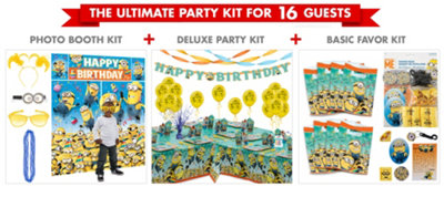 Despicable Me Party Supplies Ultimate Party Kit