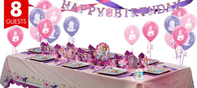 Sofia the First Super Party Kit for 8 Guests