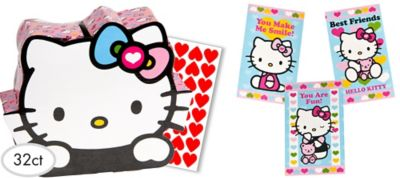 Hello Kitty Valentine Exchange Cards 32ct